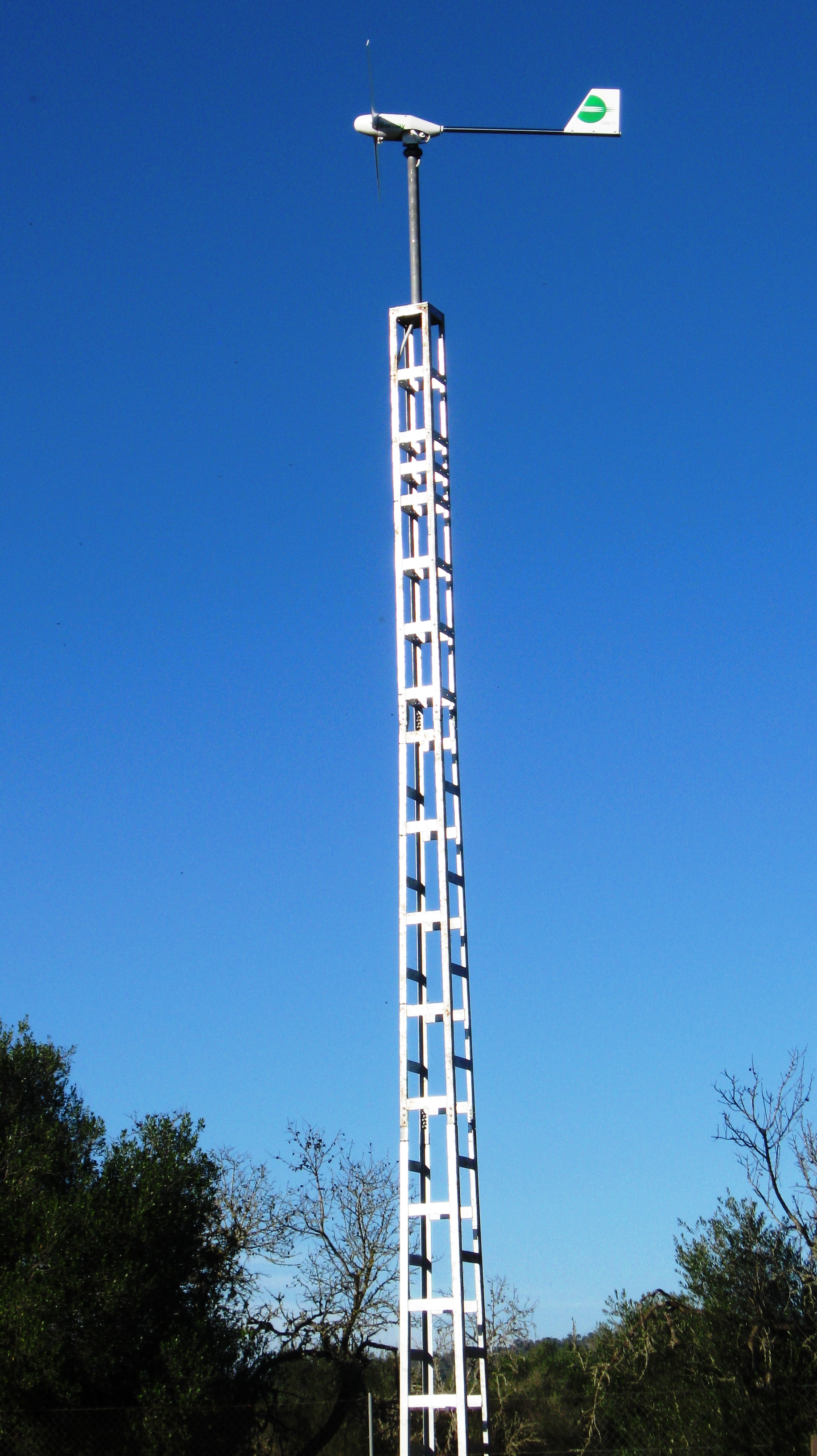 Tower For Wind Turbine Sol Luz Ion